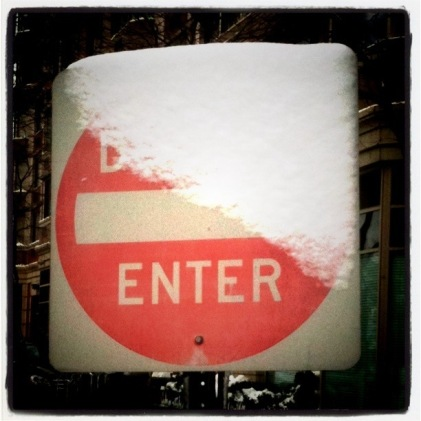 Snow changes everything #photo #shotwithiPhone