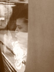 A face in the window #iphoneography #photography