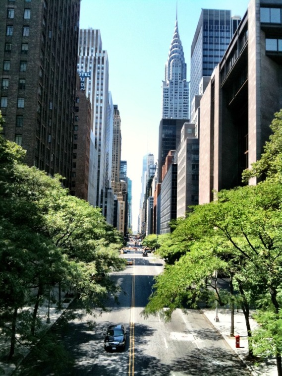 The streets of NYC