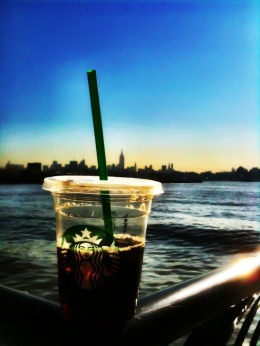 Coffee with the big apple #photography #iphoneography #NYC