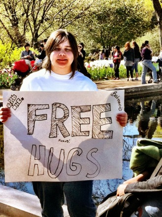 Want some FREE HUGS to make you feel better #iphoneography #photography