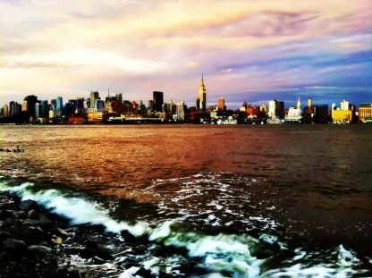 Will I ever get tiered of these Gorgeous New York sunsets? #iphoneography #photography #NYC