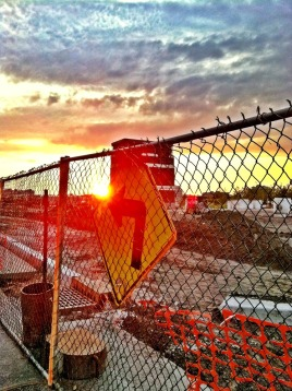 Turn left for the setting sun #iphoneography #photography