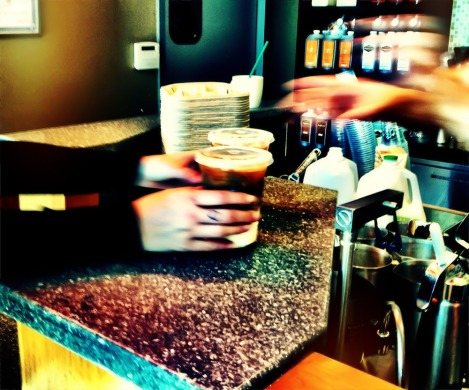 The morning rush for Coffee #iphoneography #photography @Starbucks