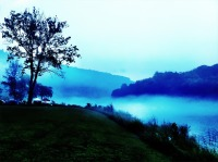 A foggy evening by the Delaware river a #photo collection #iphoneography #photography