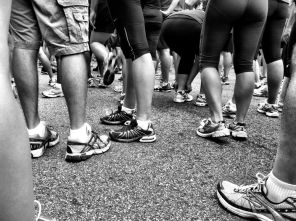 Just finished the 18th Newport Half Marathon (13.1 M), feels good :) #iphoneography #photography #run