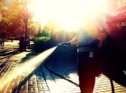 The light headed janitor #iPhonography #photography #jerseycity