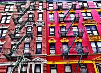 Shades of Red #iphoneography #photography #NYC #Chinatown