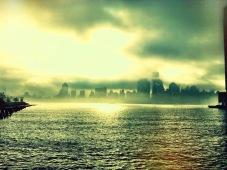 The foggy heaven