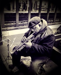 Adding joy to the #NYC commute one note at a time #iphoneography #photography #subway