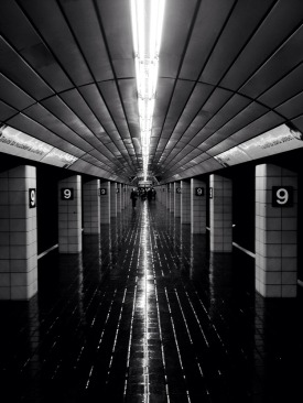 The subway of NYC