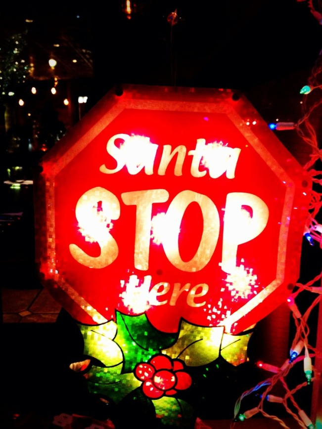 Santa STOP here #iphoneography #photography #holidays