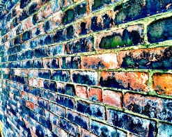 All in all you're just another brick in the wall. #iphoneography #photography