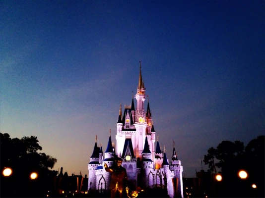Cinderella palace Disneyland