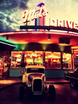 Mil's good old drive in #iphoneography #photography #orlando #universal