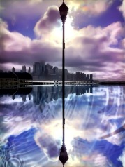 Worlds tallest lamp post, imagination unlimited #iphoneography #photography #nyc