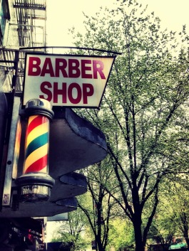 The old fashioned barber shop #NYC #iphoneography #photography