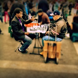 When we are at a game of chess, nothing else matters #iphoneography #photography #people #NYC
