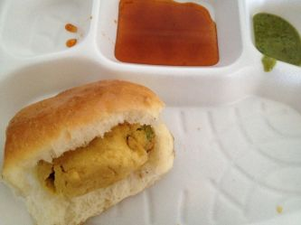 The amazing Indian burger