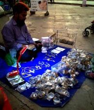 The bangle seller #iphoneography #photography #streetphotography #india #Mumbai
