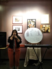 An evening to remember, great art and lovely music #iphoneography #photography #CitytoCity