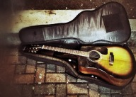 Do guitars dream when they are set aside #iphoneography #photography #streetphotography #Hoboken