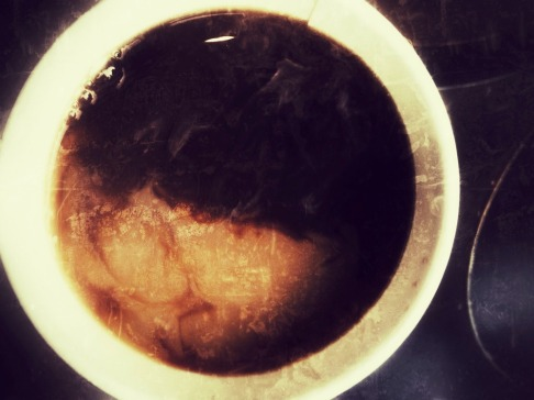 When the sun rises in my coffee cup, I wake up #iphoneography #photography #coffee