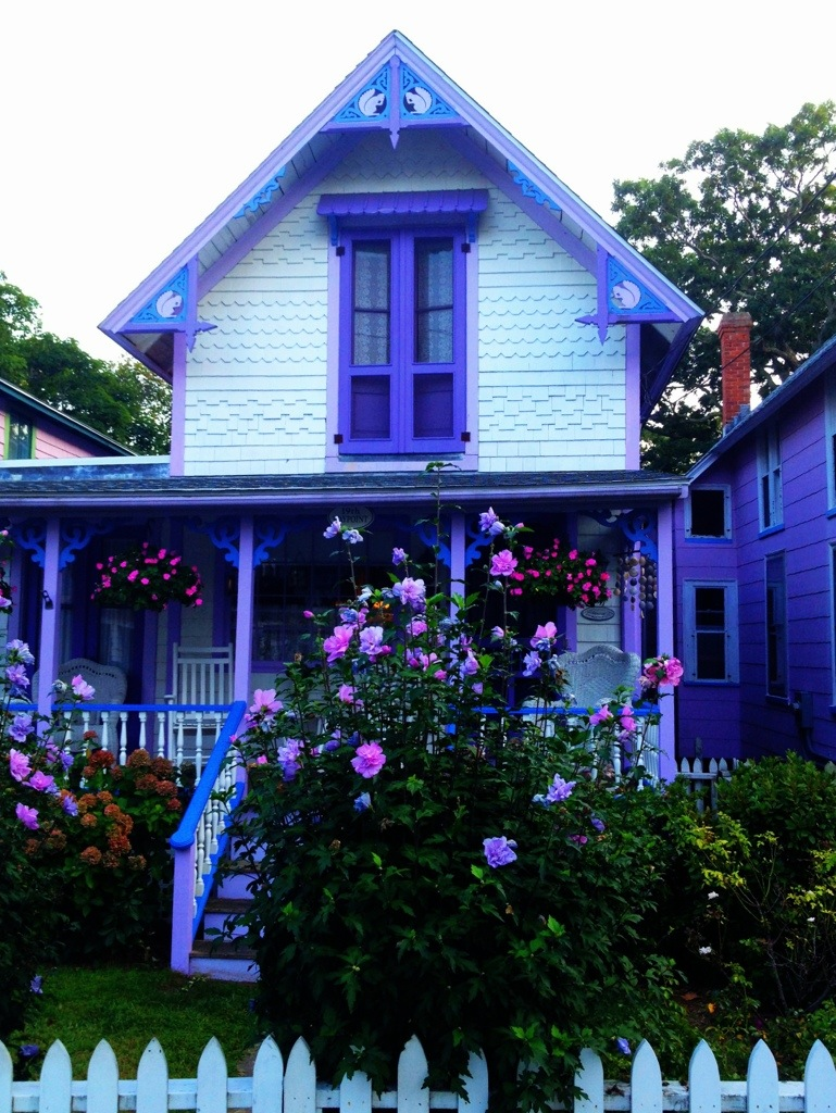 The gingerbread doll houses of martha s vineyard for Gingerbread houses martha s vineyard