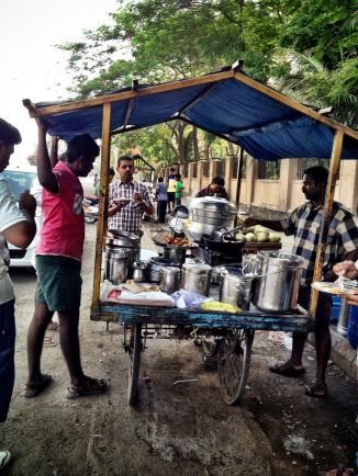 The road side tea of India