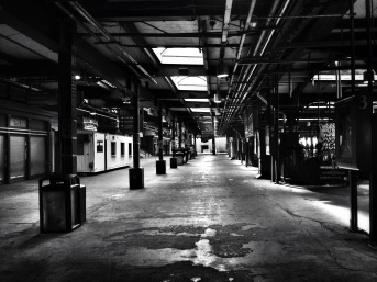 The Old Train terminal at Hoboken