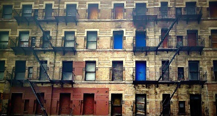 The old buildings of NYC