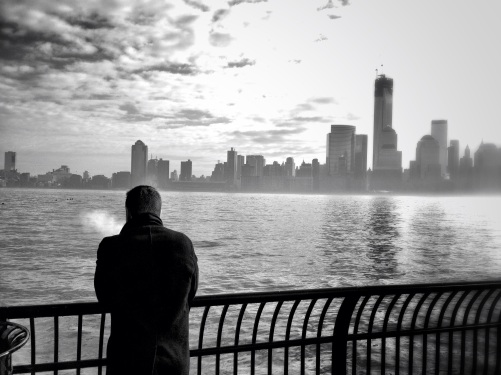 Smoking is no excuse to watch the awesome NYC view