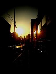 Its a queens sunset