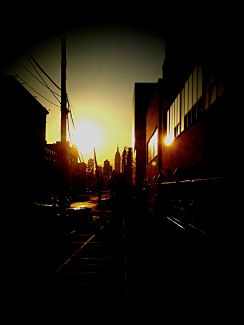 Its a queens sunset