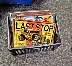 A box full of old memories