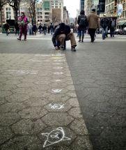 The street artist