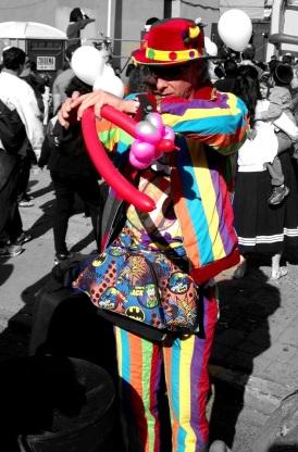 The careless clown