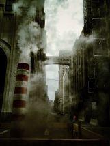 NYC through a haze of steam