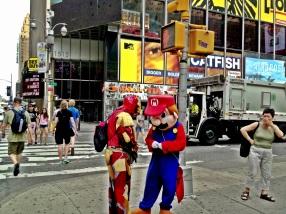 Super heros, hiding in plain sight