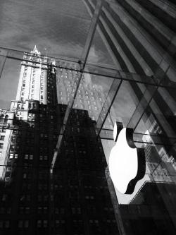 Inside the Apple cube
