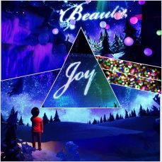 Joy, created by putting together images from Macy's Christmas decoration