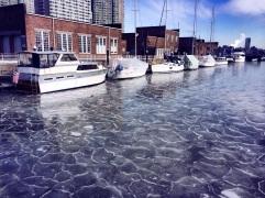 Freezing Hudson