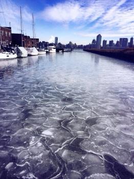 The ice walk